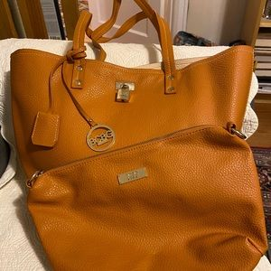 BCBG large tote & satchel